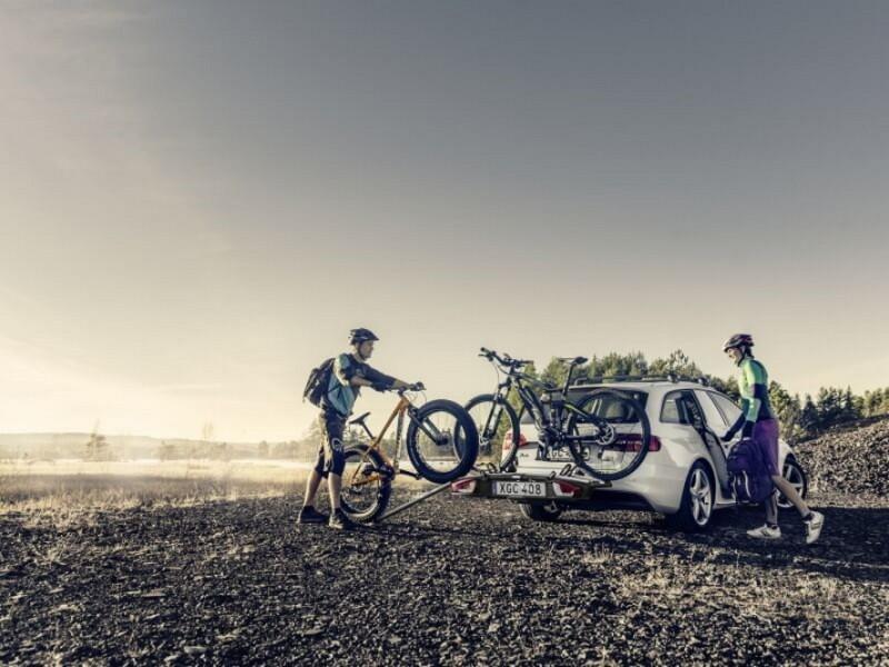 Fahrradträger <small>für die Anhängerkupplung</small>